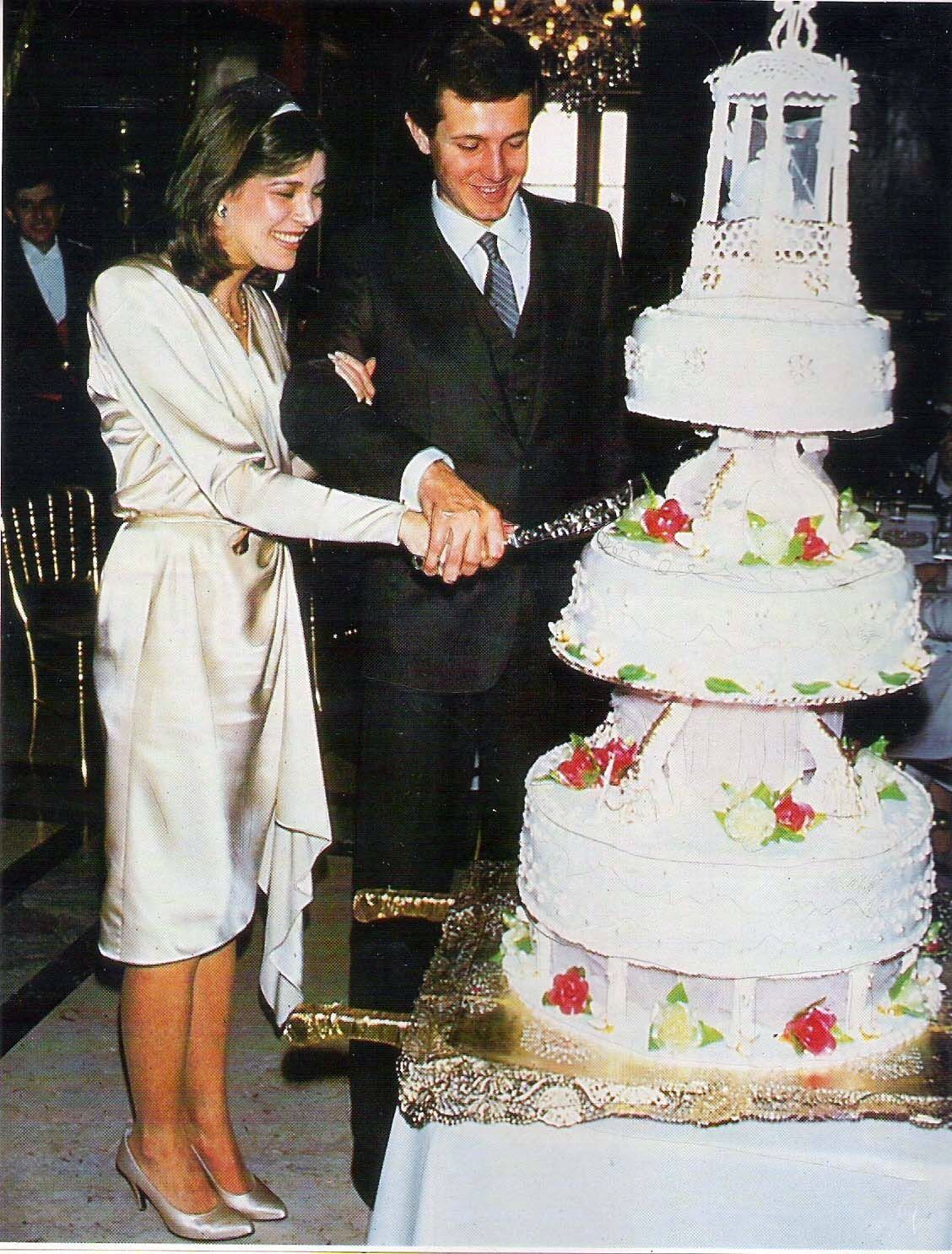 Monaco - 1983 Caroline & Stefano Casiraghi