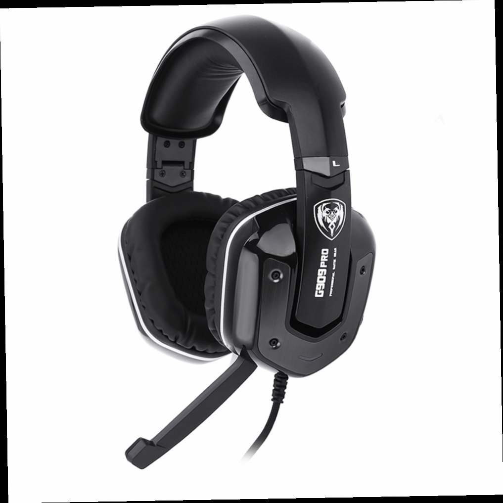 42.06$  Buy here - http://ali9fc.worldwells.pw/go.php?t=32723960587 - Hot SOMIC G909PRO Gaming Headphones Noise Canceling Over-ear Stereo Bass Mic Headset With Vibration Function For Computer