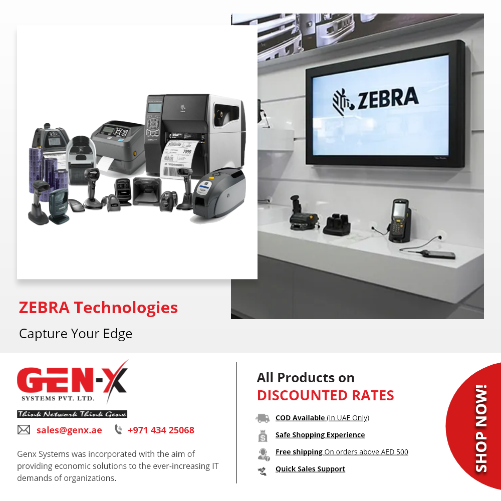 Zebra Thermal Printers Barcode Scanner Buy Handheld Scanners Printers Genx System Zebra Printer Zebra Thermal Printer