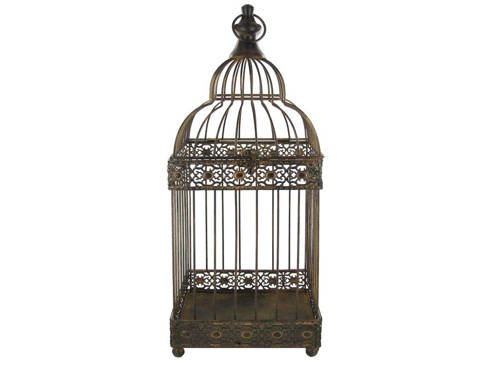 Brown Rustic Metal Bird Cage Shop Hobby Lobby Love