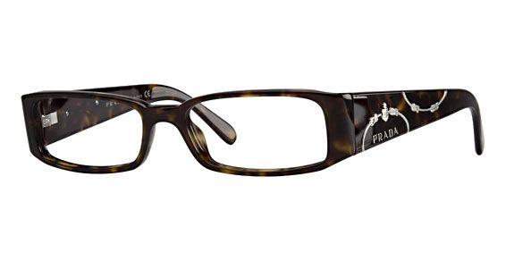 Prada Eyeglass Frames | Prada PR 07IV Eyeglasses Eyewear Frames ...