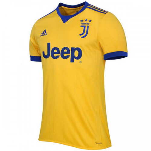 820556acb 17-18 Juventus Away Yellow Soccer Jersey Shirt