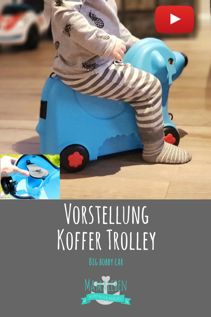 Affenzahn Kindertrolley Timmy Tiger Gelb Trolley Koffer Kinder