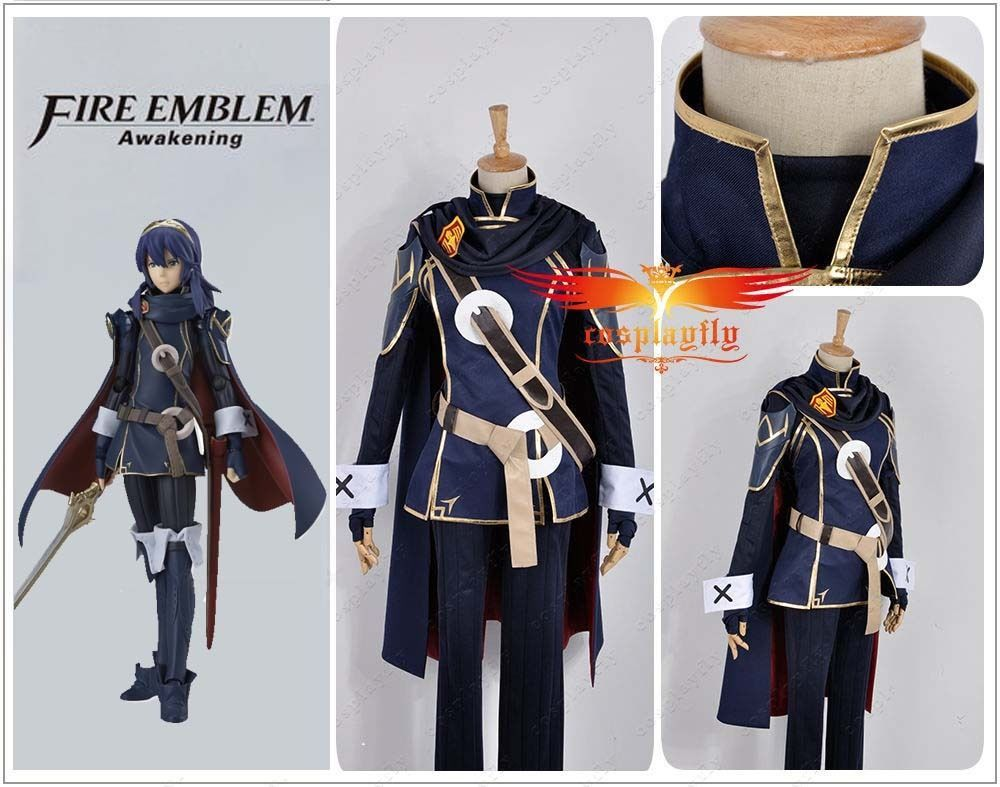 New Fire Emblem Awakening Lucina Battleframe Cosplay Costume