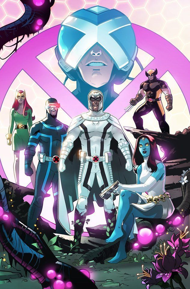 House Of X Professor X Magneto Mystique Cyclops Wolverine And Marvel Girl By Stephen Byrne Marvel Comics Art Marvel Champions Marvel
