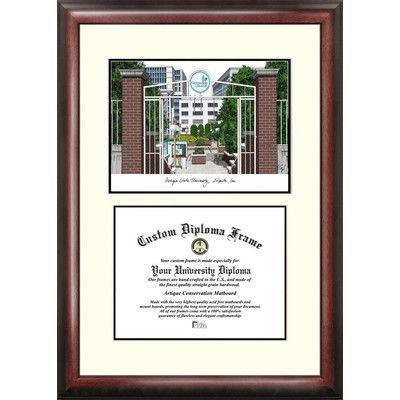 Campus Images NCAA Scholar Diploma Picture Frame NCAA Team: Georgia ...