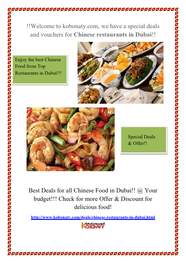 Http Www Kobonaty Com Deals Chinese Restaurants In Dubai Html Best Chinese Food Chinese Restaurant Yummy Food