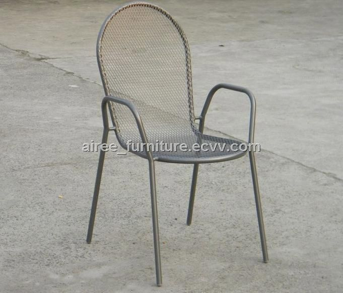 Marvelous Stacking Mesh Chair (AP07014)   China Steel Mesh Armchair, Airee