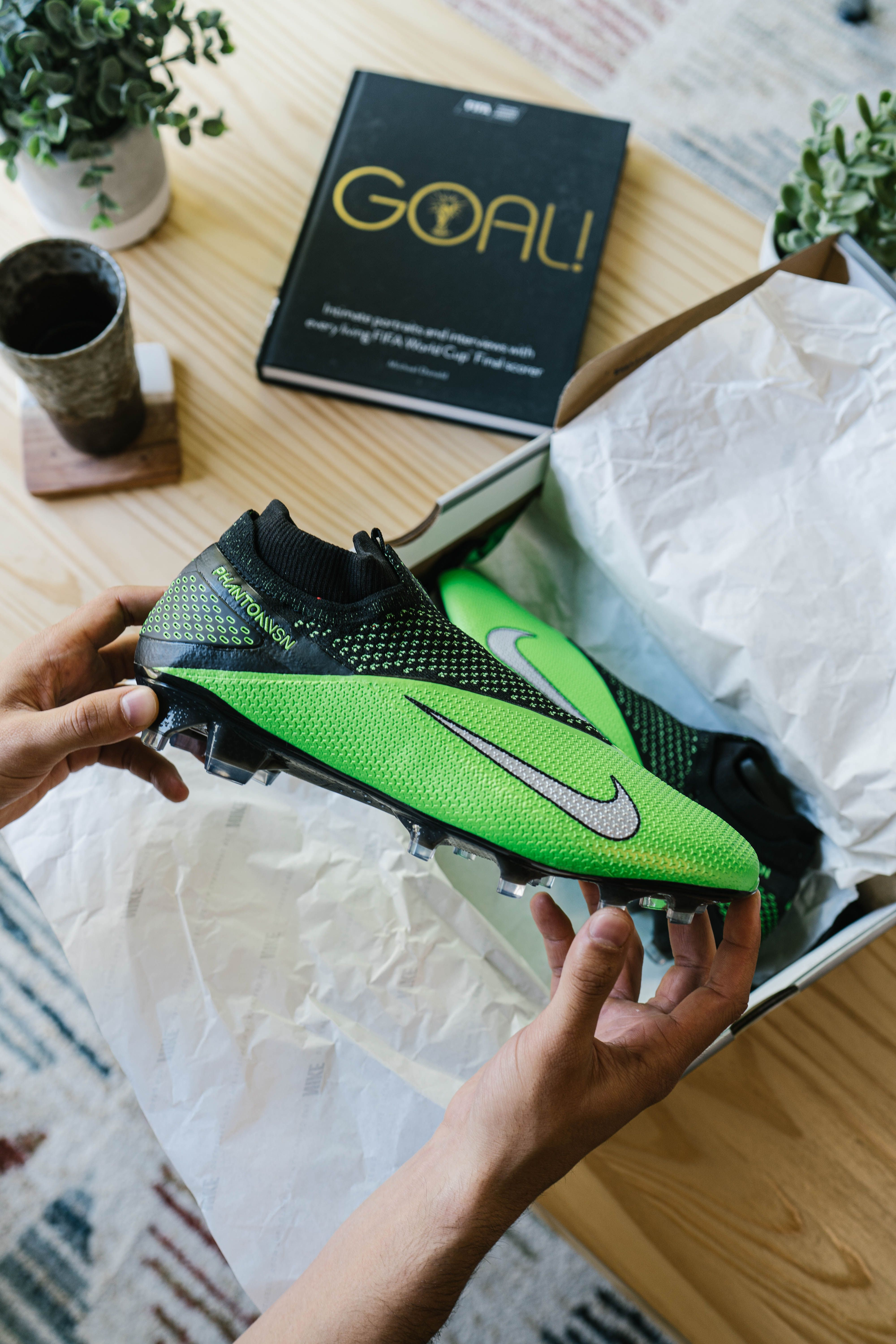 Nike Future Lab Ii Phantom Vision 2 In 2020 Soccer Cleats Soccer Cleats