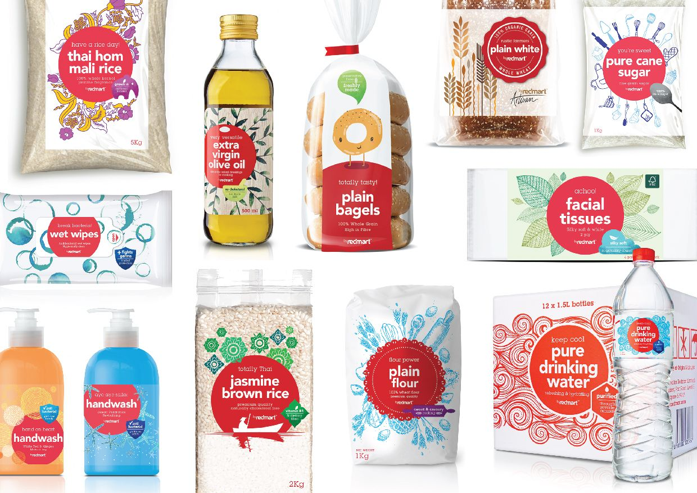 Redmart Private Label Packaging Packaging Labels Design