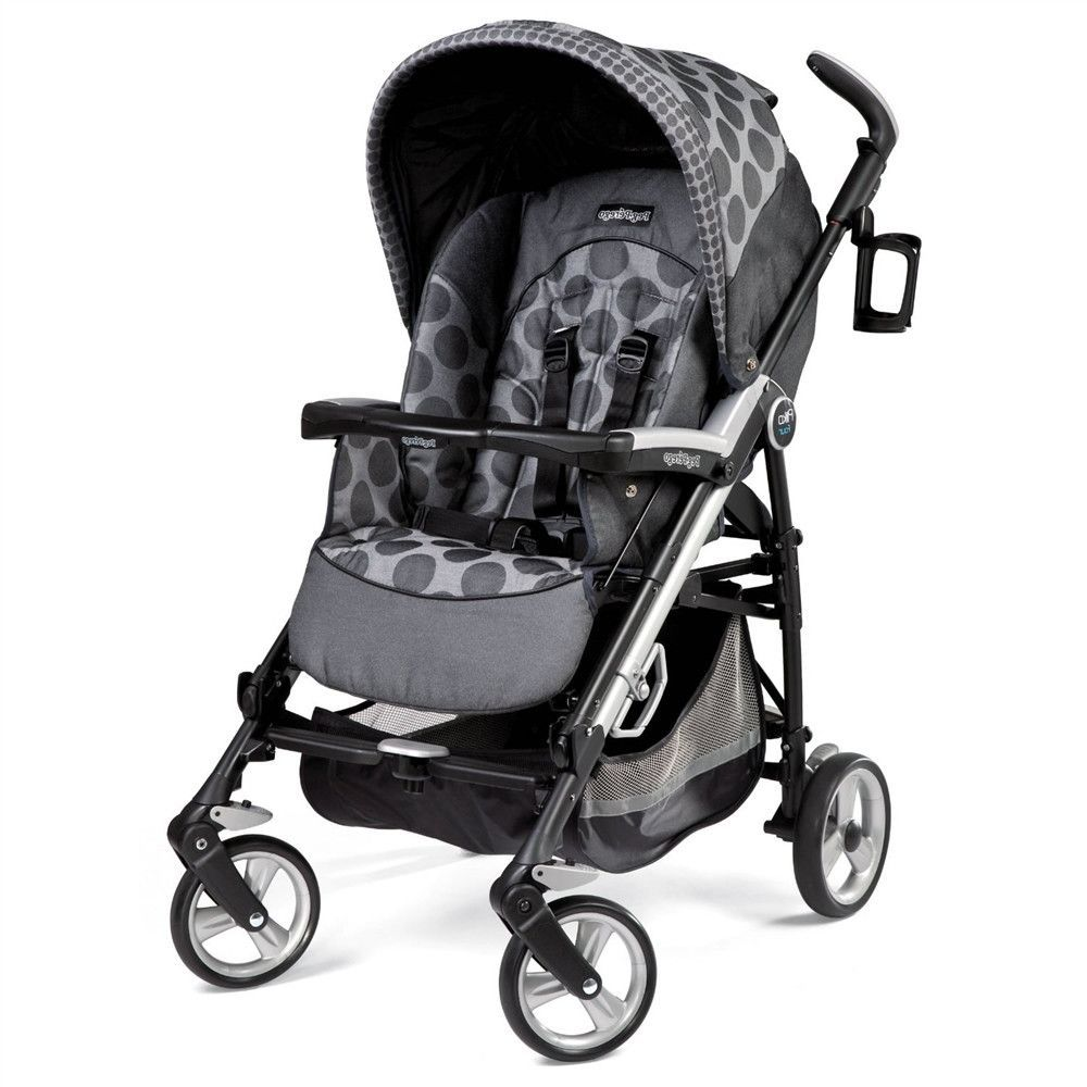 Peg Perego Book Classico Pois Grey Peg Perego Pliko Four Pois Grey Light Grey Charcoal