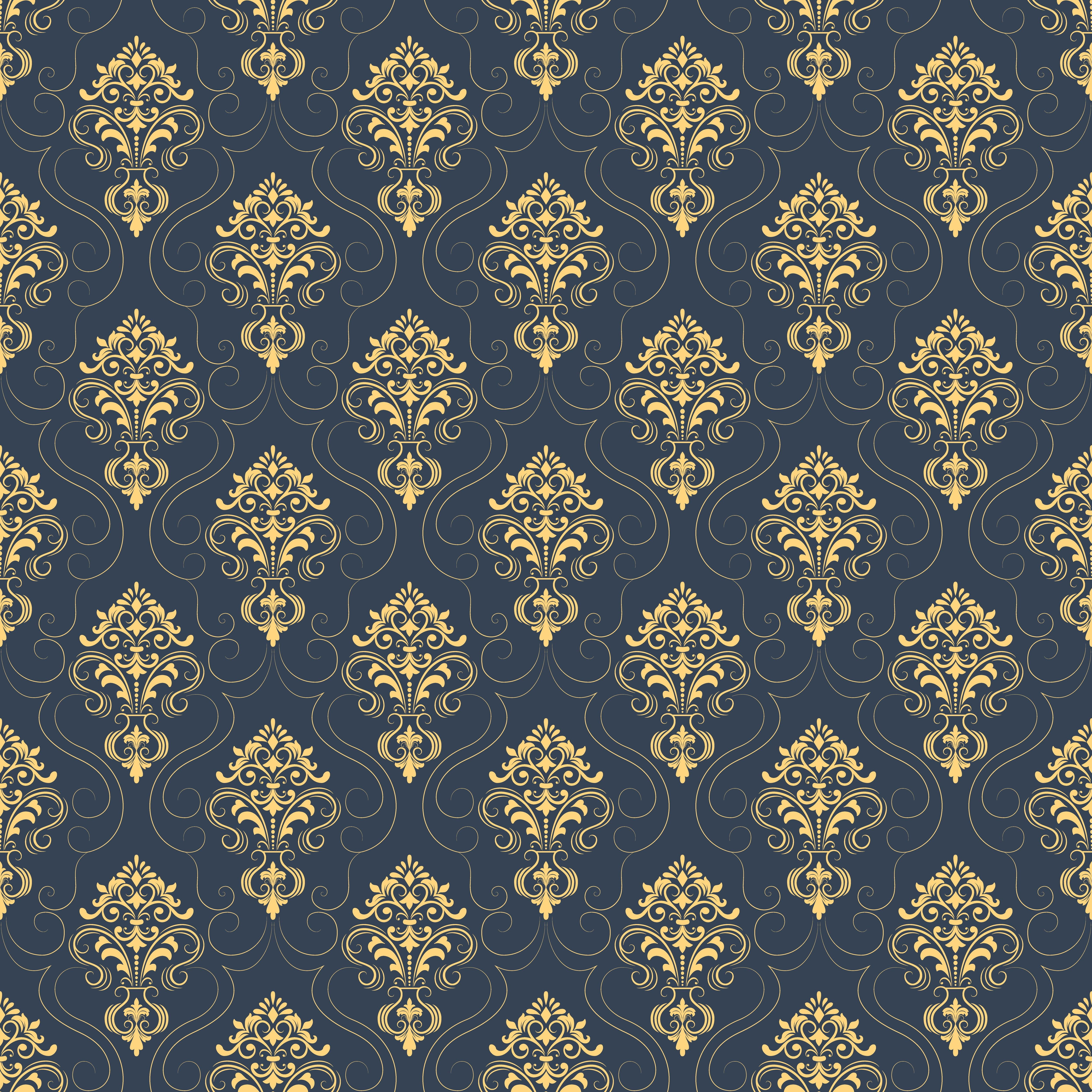 blue and brown floral wallpaper vector texture