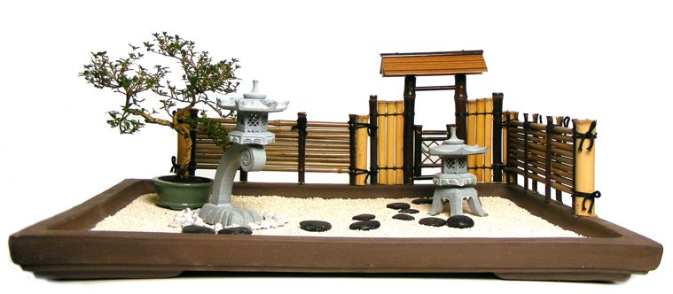 Mini Zen Garden Bonsai Zen Garden Miniature Zen Garden Mini