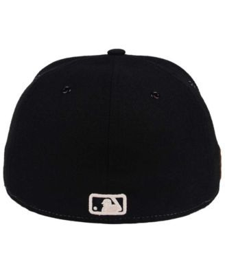 the latest d30fc 2385b New Era San Francisco Giants X Wilson Leather Front 59FIFTY Fitted Cap -  Brown Black 7 5 8