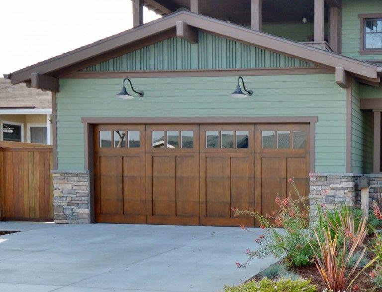 Featured Customer Gooseneck Light Complements Arts Crafts Style Home Garage Lights Exterior Barn Lighting Garage Lighting