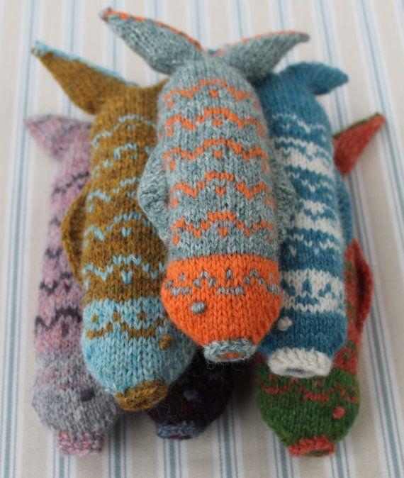 Fair Isle Fish Knitting Pattern | Fair isles, Knitting patterns ...