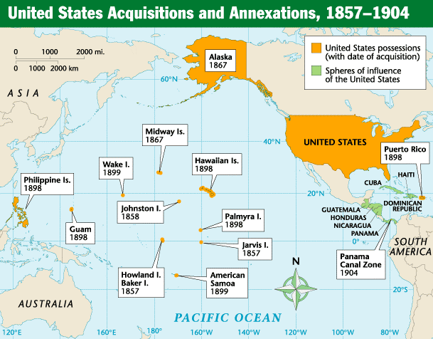 US Imperialism Map ThingLink - Map of us imperialism | Library ...