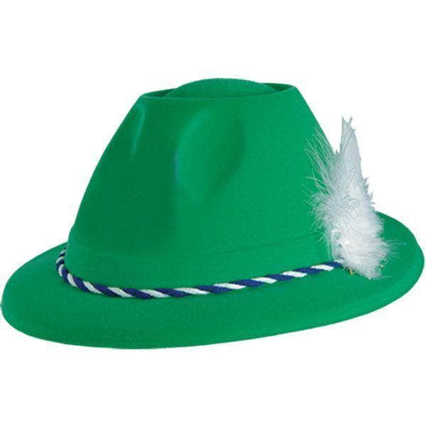 Grüner Deutscher Tiroler Hut