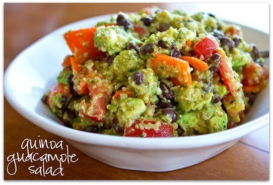 Latin american food recipes quinoa guacamole salad looks like latin american food recipes quinoa guacamole salad looks like avocado quinoa tomatoes black beans forumfinder Image collections