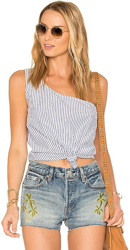 Lovers + Friends x REVOLVE Tie That Top in Blue. - size L (also in M ... 9c6f5b4c1895