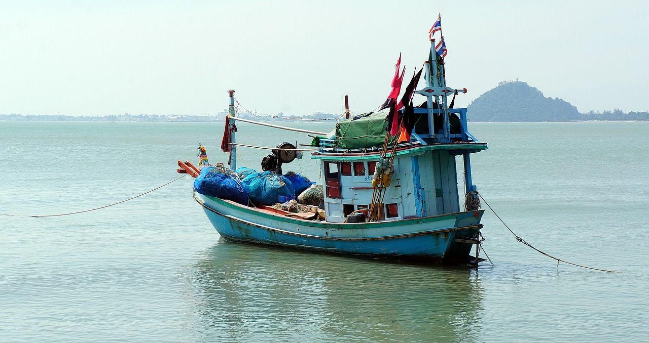 Boat, Fishing, Boat, Trawler, Sea, Thailand #boat, #fishing