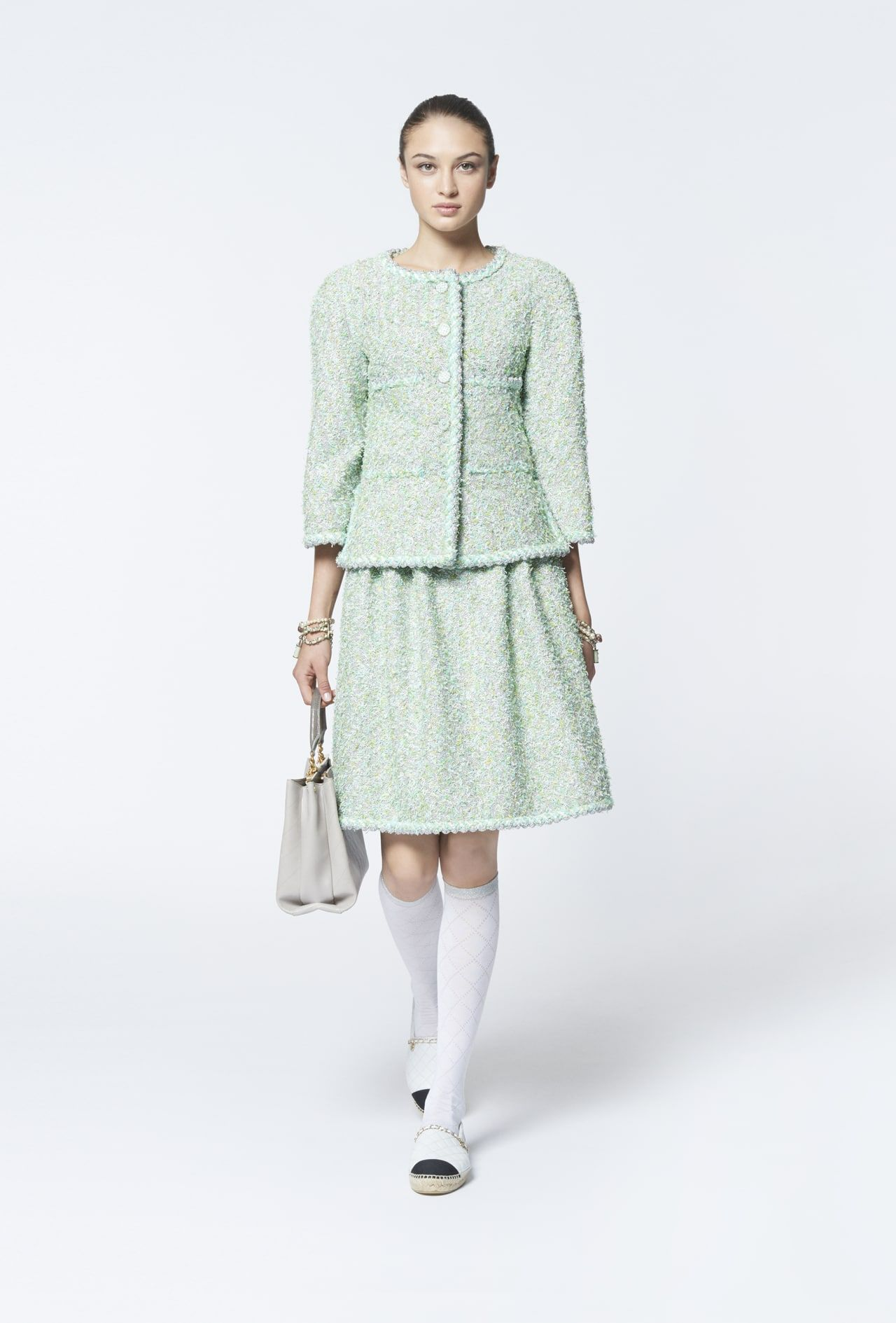 6e84e6d1c0 Look 23 - Spring-Summer 2018 Pre-Collection - Ready-to-wear - CHANEL ...