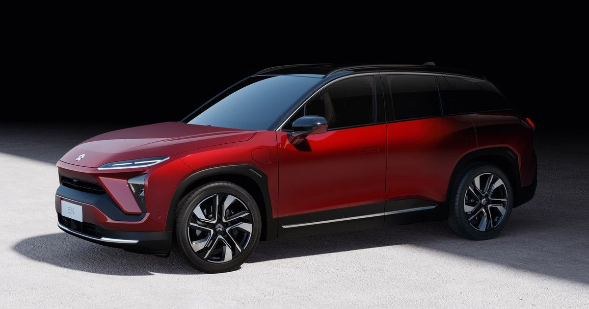 Chinese Tesla Rival Nio S New Suv Is A Powerhouse The Motley Fool New Suv Electric Cars Electric Crossover