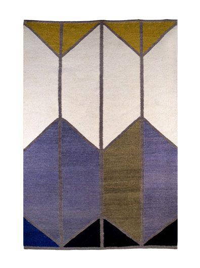 Wool Rug by Alyson Fox and Hawkins New York 120x80cm