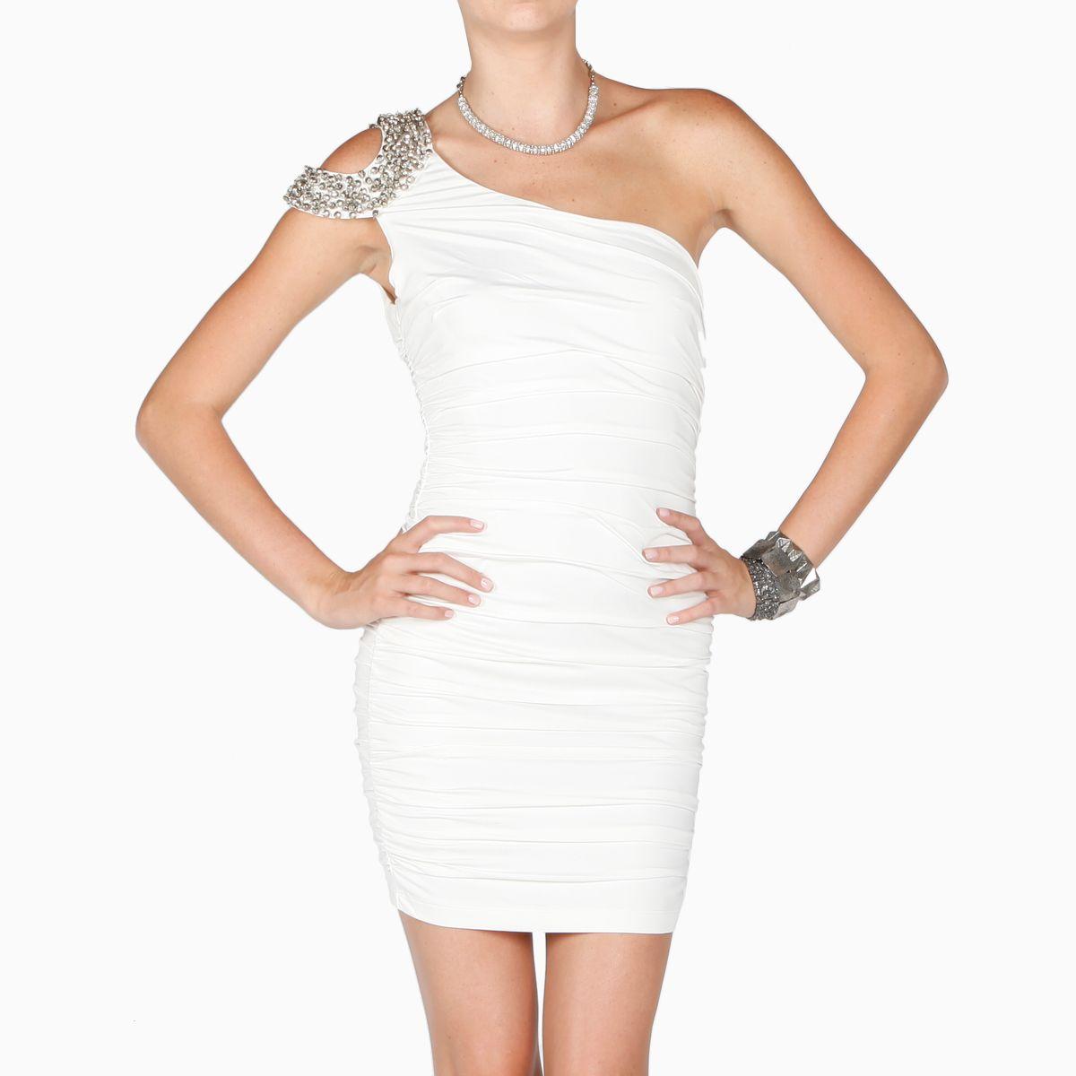 Open One Shoulder Jewel Dress | Pinterest | Jewel, Shoulder and Clothes