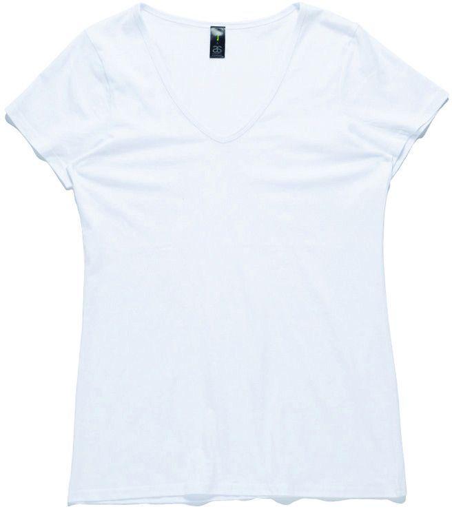 AS Colour Womens Bevel V-Neck T-Shirt