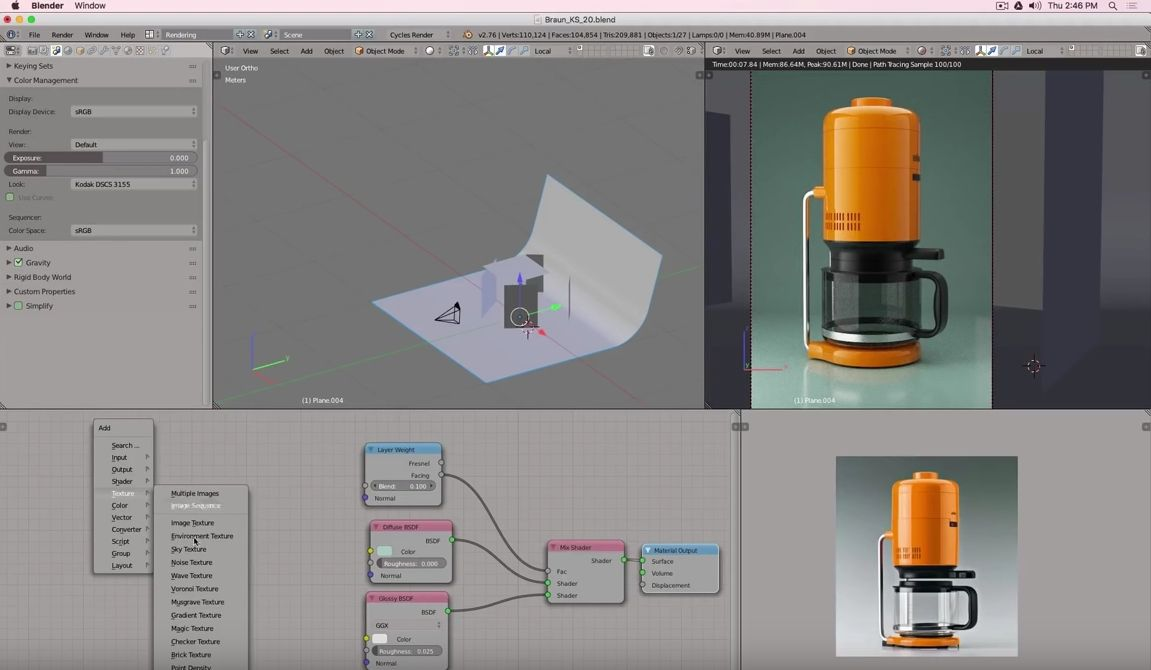 Again I want to bring an amazing Blender and Fusion 360