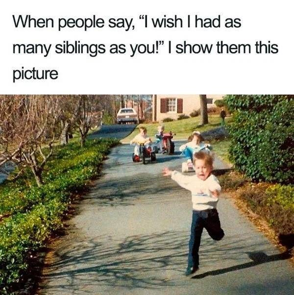 Relatable Sibling Memes To Fight Over With Your Fam