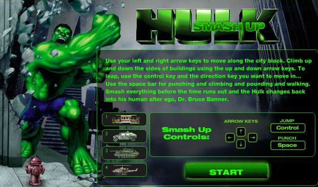 online play to hulk games