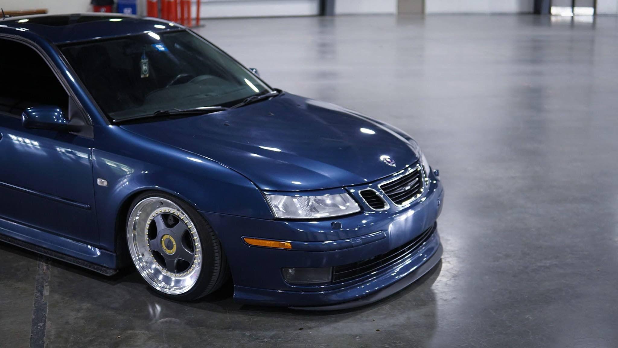 Saab Blue Saab 9 3 Saab Bmw Car
