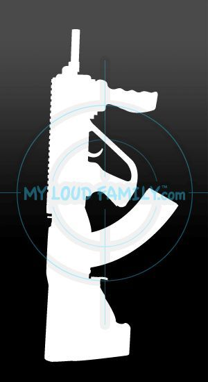 SKS SGworks Bullpup Stock Decal Sticker