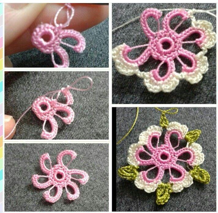 Irish crochet...♥ Deniz ♥ | Oya | Pinterest | Flor, Ganchillo y Tejido