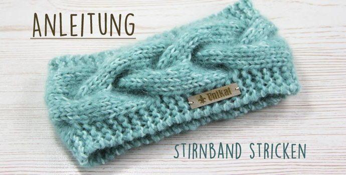 Patron libre: tricotez un bandeau avec un motif de câble   – Knit (patterns)