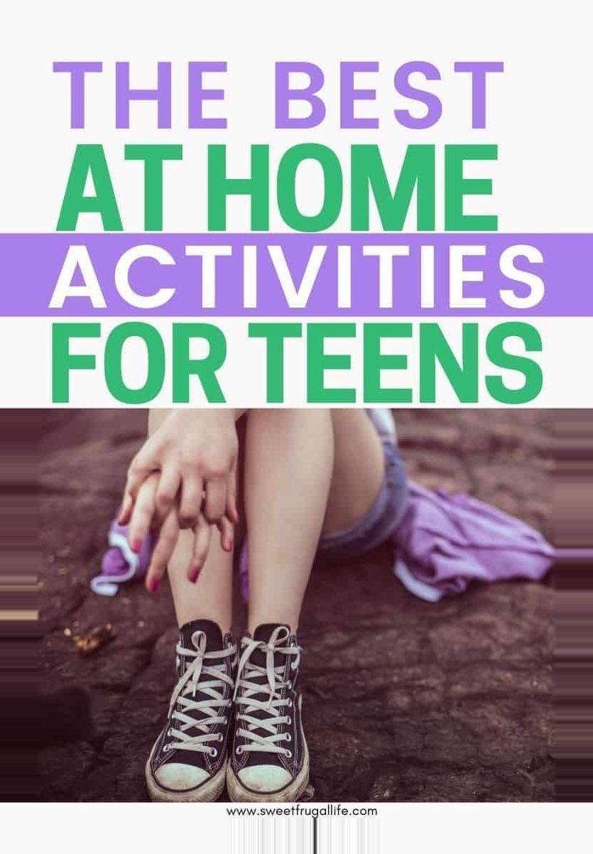 #activities #home #teens #winter break college home Best At Home Activities for Teens Fun activities for teens to do at home during summer break. At h…