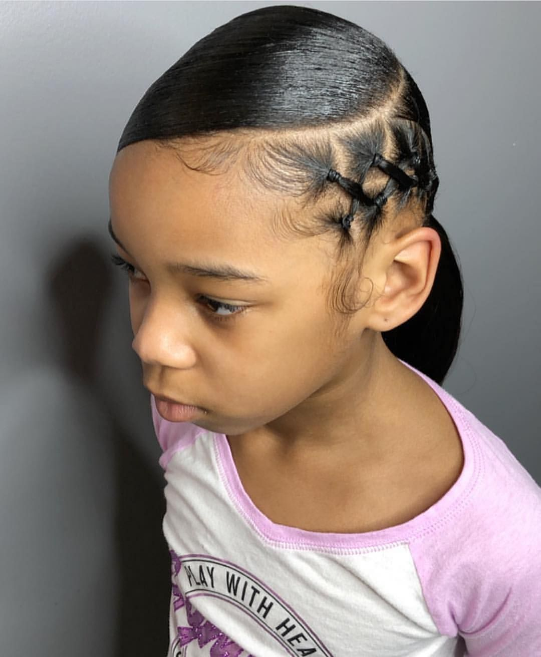 23+ Ponytail hairstyles for black toddlers with short hair trends