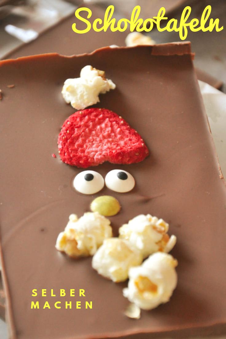 #BruchSchokolade #Weihnachtsmann Bruchschokolade - Weihnachtsmann        Schokoladentafeln selber machen zu Weihnachten oder Nikolaus. #nikolausbacken