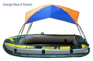 Intex Seahawk Inflatable Boat Tent Sun Shelter 2 3 4 Person PVC Rubber  sc 1 st  Pinterest : boat sun canopy - memphite.com