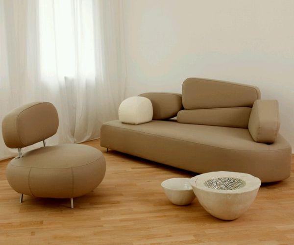 32 idées canapé moderne pour le salon   Salons und Canapés