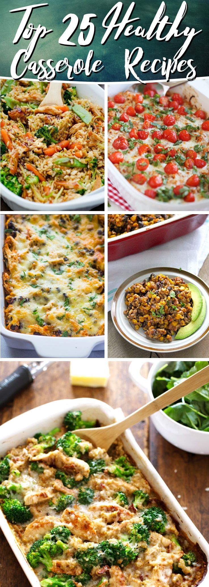 25 Healthy Casserole Recipes Packing Deliciousness With True Comfort #healthy #recipes #food #