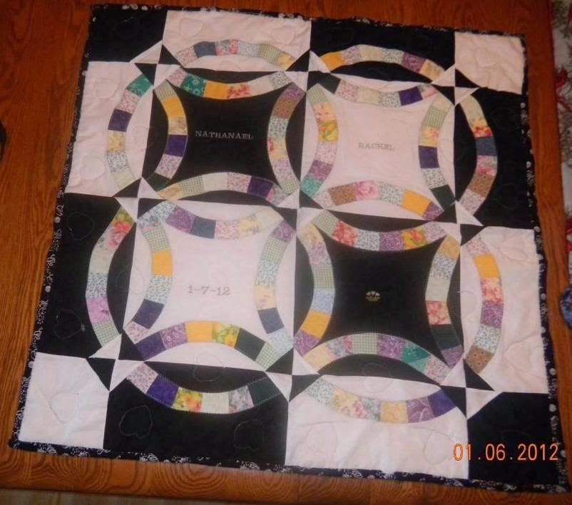 Quiltsmart Double Wedding Ring Quilt