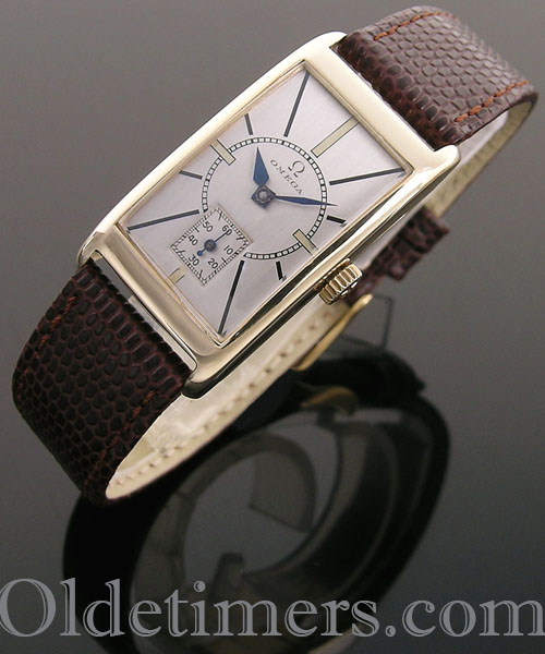 1930s extremely rare 9 carat gold tonneau vintage Rolex watch - Olde Timers #rolexwatches