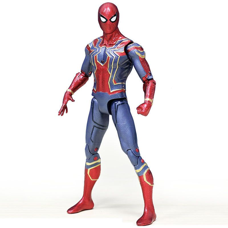 Marvel Avengers 3 Infinity War Spider Man Movable Action Figure 6 Toy For Kids