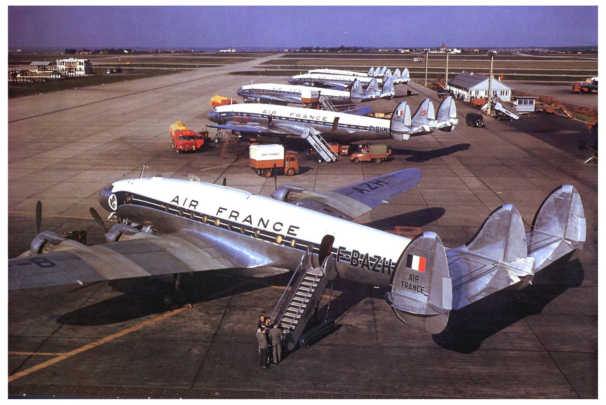 Air France Lockheed L749A Constellation FBAZH c/n 2627