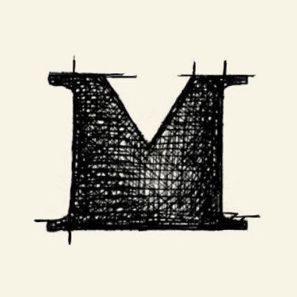 """La idea de marca que surge para representar el Universo de la marca La Maison de Mageritdoll ha nacido del concepto de grabado como representación de sus valores principales.   A raíz de este concepto se ha creado un logotipo que tiene como símbolo una """"M"""" dibujada a plumilla, reforzando la idea de manual y resaltando las pequeñas imperfecciones que tanto las muñecas como las personas tenemos.  La Maison de Mageritdoll # Artistic Doll # Necklace # Pequeña Alta Costura # Petite Haute Couture"""