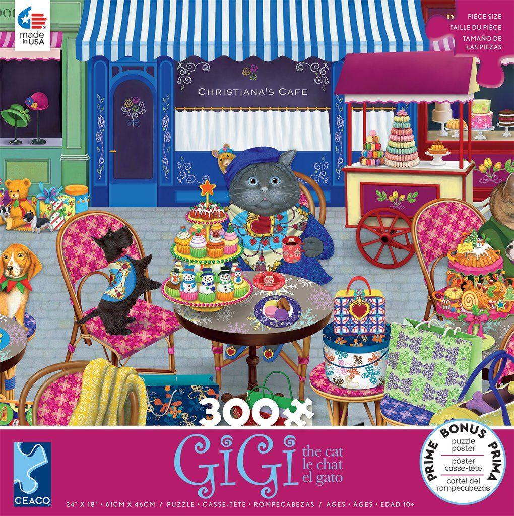Gigi the Cat The Shopper 300 Piece Puzzle 300 piece