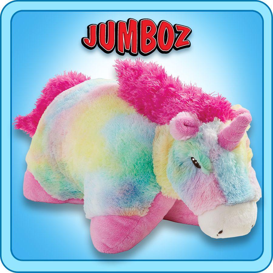 """30"""" Jumboz Magical Unicorn Pillow Pet (With images"""